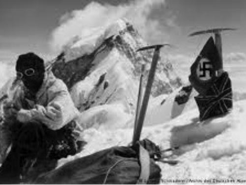 Nazi flag on Nanga Parbat